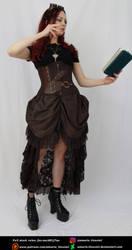 Steampunk Heroine 9 by Amarie-Tinuviel