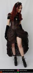 Steampunk Heroine 1 by Amarie-Tinuviel