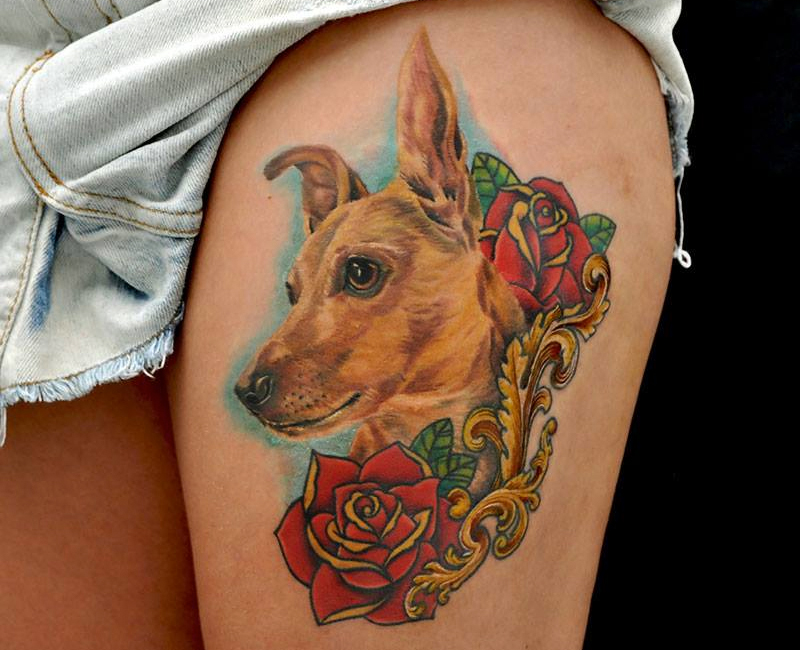 Memory tattoos for dogs images for Tattoos in remembrance of dog