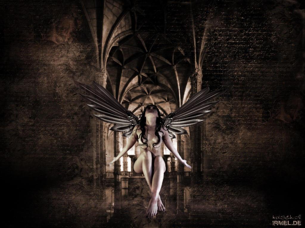 sexy gothic fairy wallpaper - photo #40