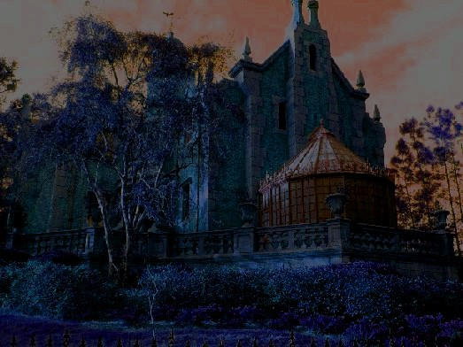 Haunted Mansion By Gothic Art