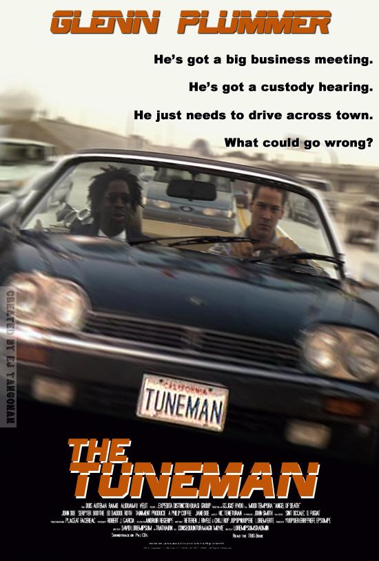 The Tuneman poster by EJTangonan