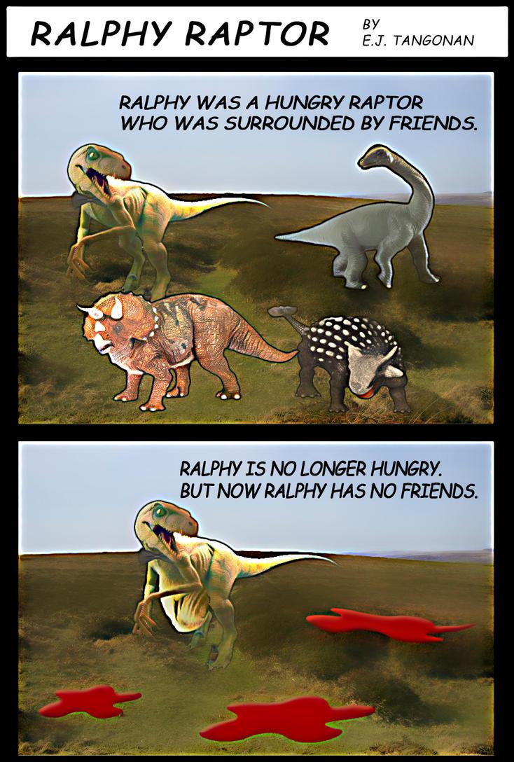 Ralphy Raptor by EJTangonan