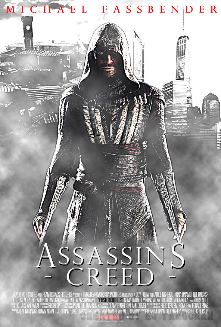 assassins creed movie poster by ejtangonan on deviantart
