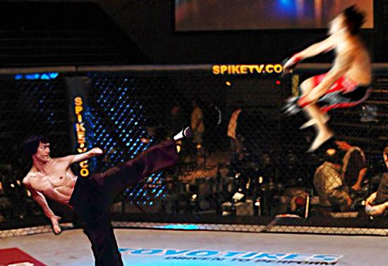 Bruce Lee in the UFC by EJTangonan