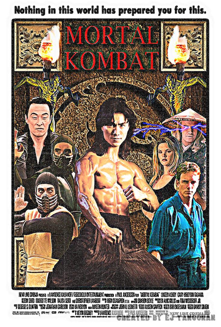 Mortal Kombat vintage poster by EJTangonan