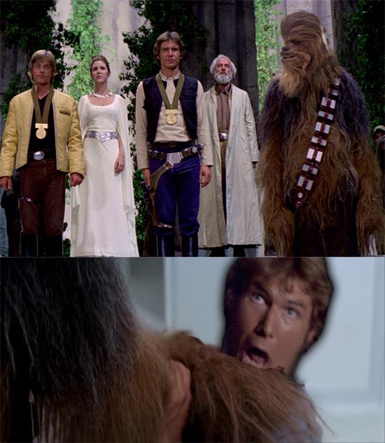 Chewie's gratification by EJTangonan