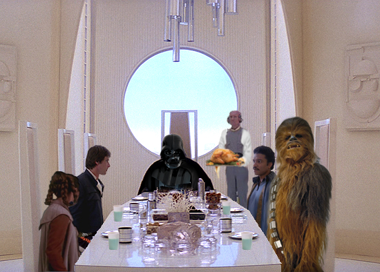 Our Dinner with Vader by EJTangonan