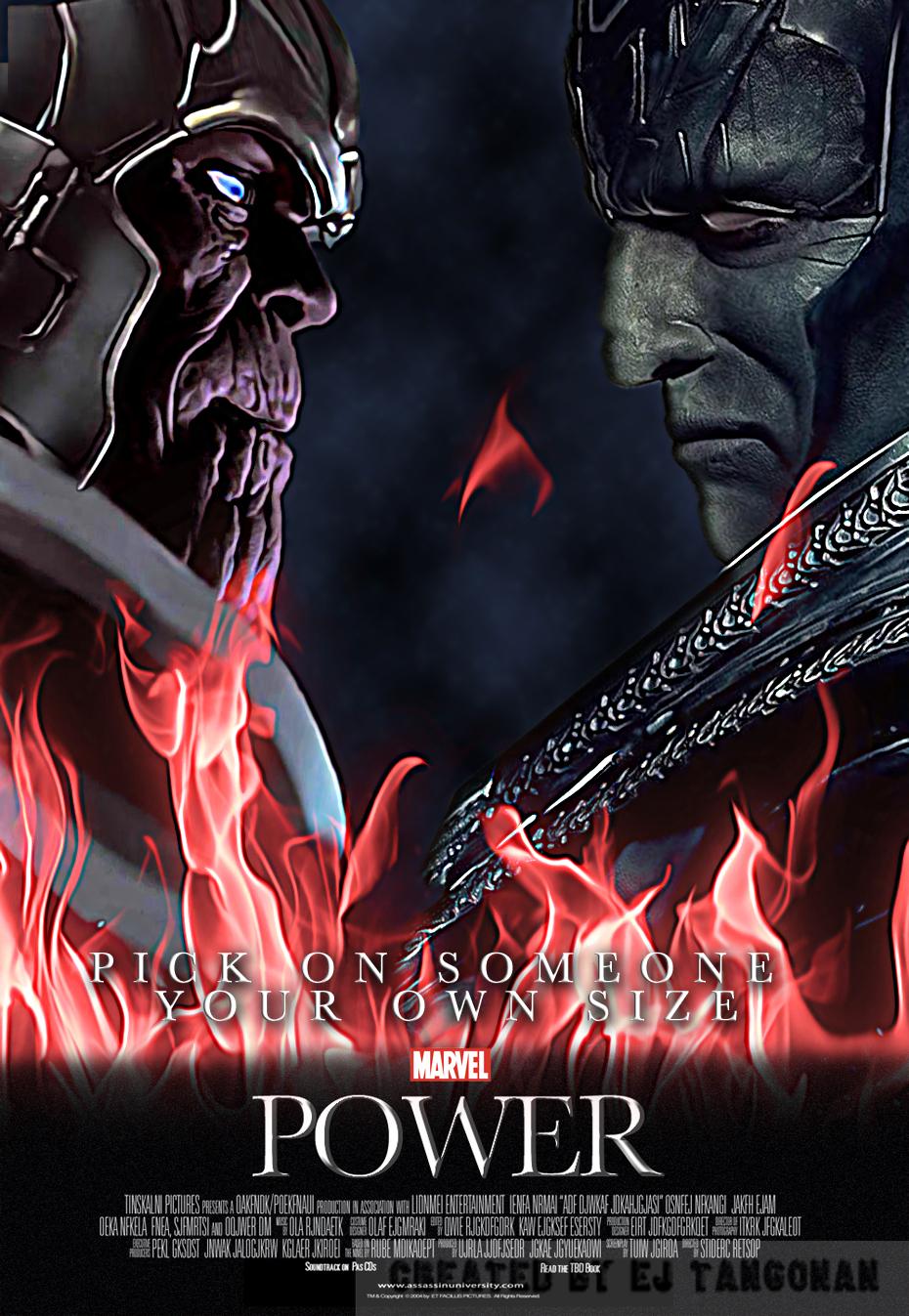 Marvel's Power (alternate design) by EJTangonan