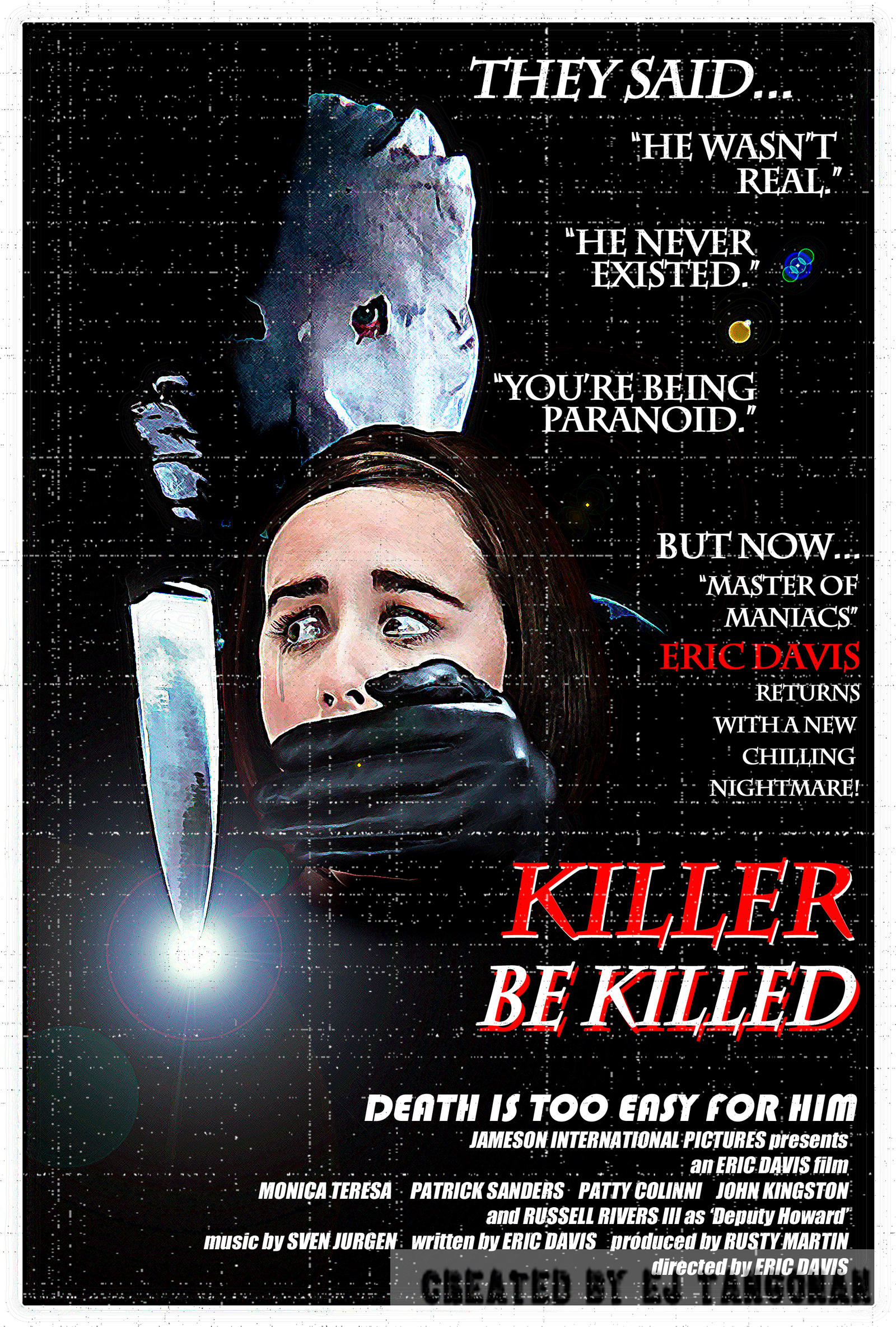 'Killer Be Killed' retro poster alternate by EJTangonan