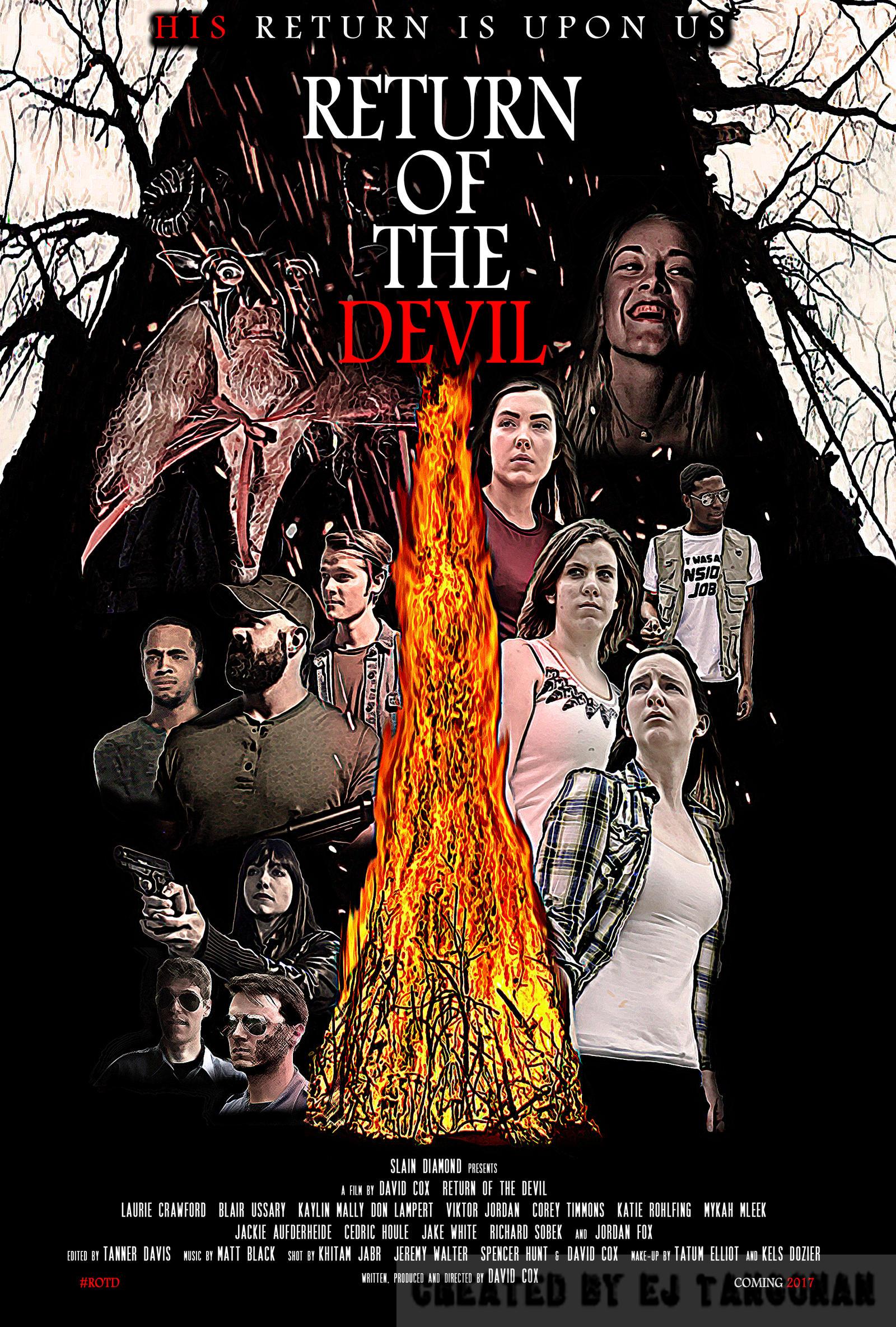 Return of the Devil poster by EJTangonan