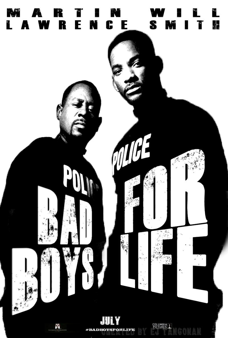 'Bad Boys For Life' (Bad Boys 3) teaser poster by EJTangonan