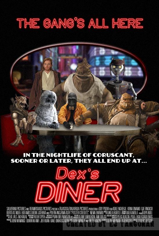 Dex's Diner movie poster by EJTangonan
