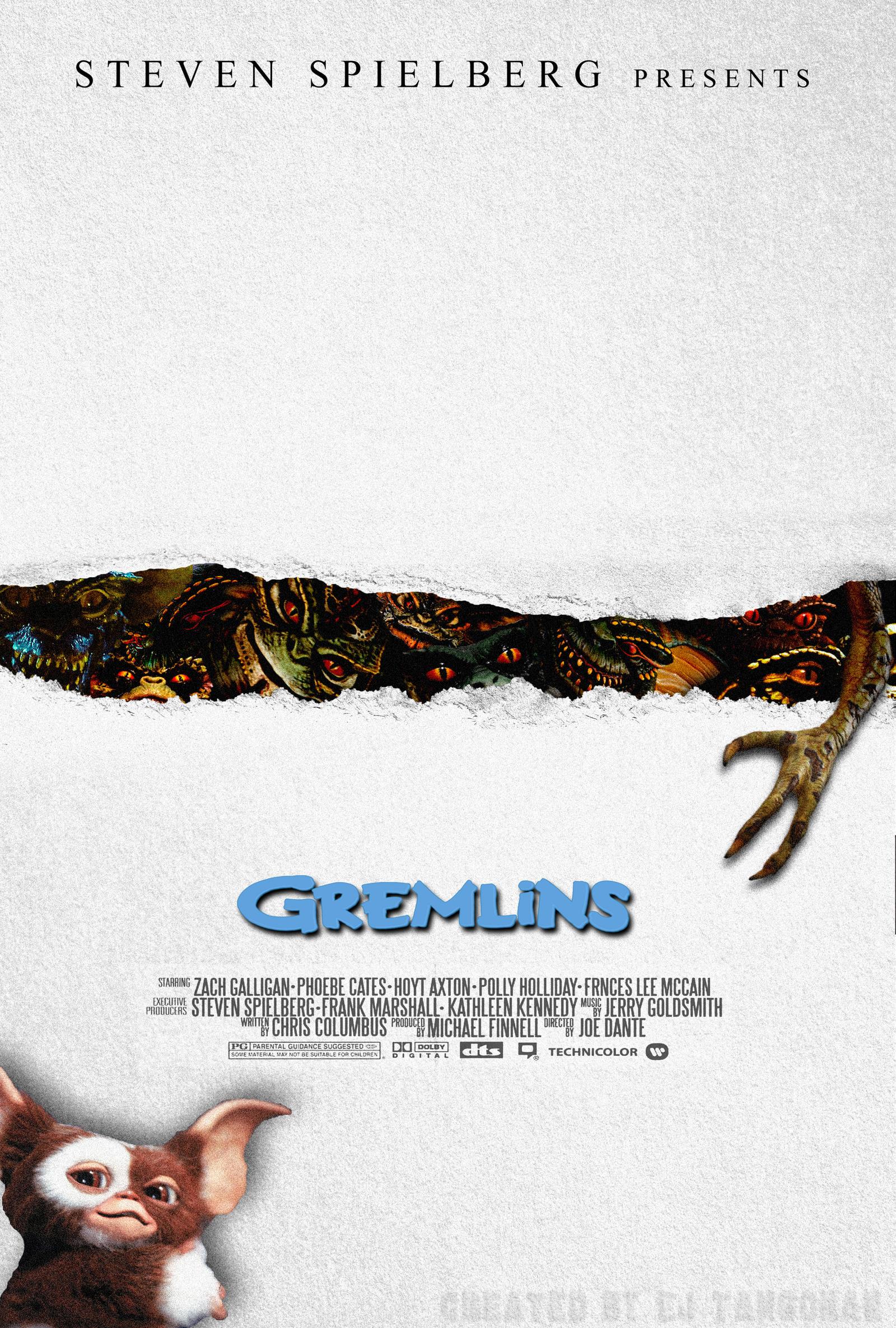 Gremlins fan poster 2 by EJTangonan