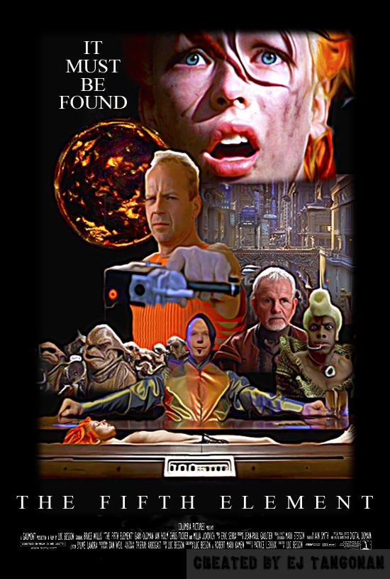 The Fifth Element fan poster REVISED by EJTangonan