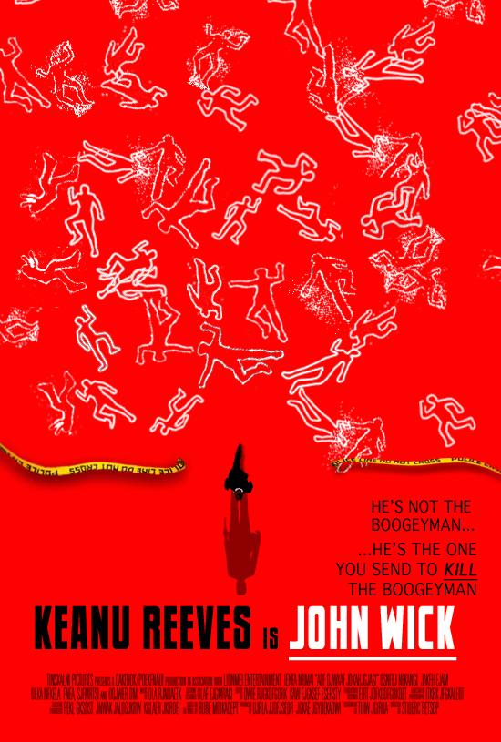 John Wick Classic Hollywood poster by EJTangonan