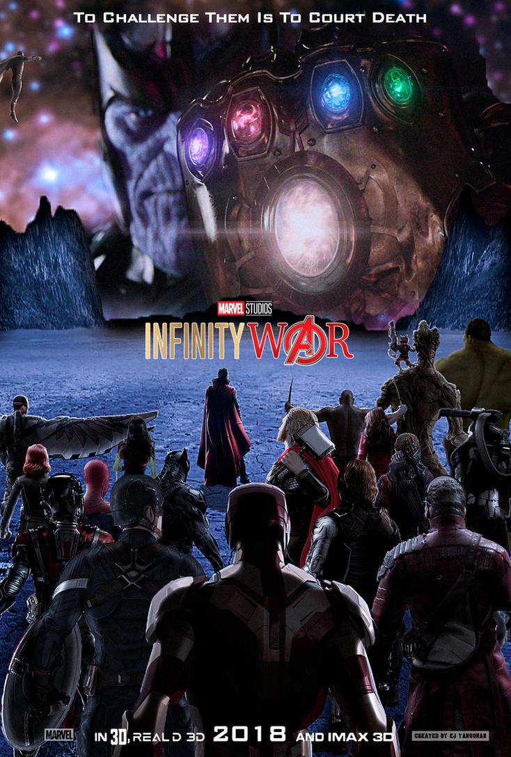 Avengers: Infinity War poster by EJTangonan