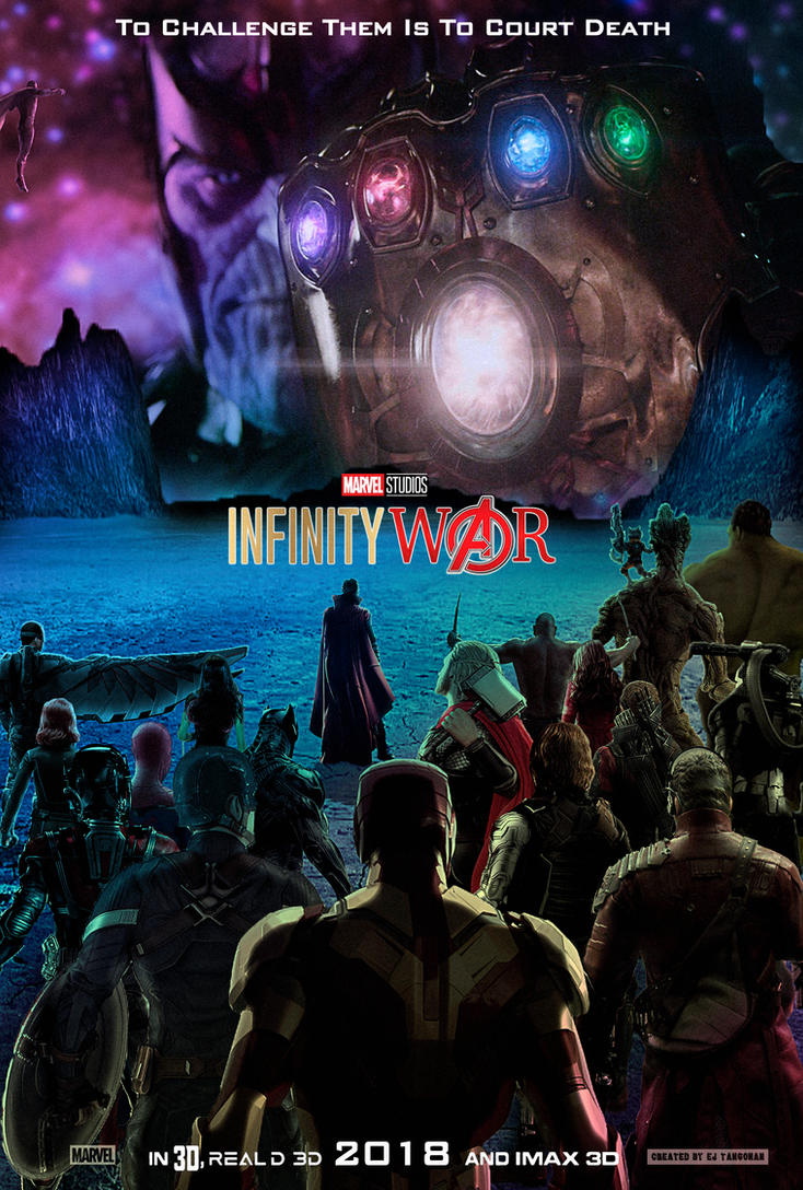 Avengers: Infinity War poster ALTERNATE by EJTangonan