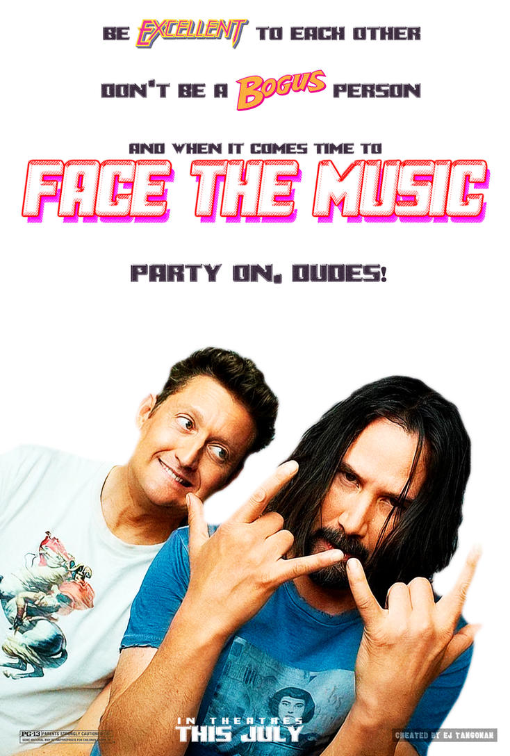 Bill and Ted Face the Music poster by EJTangonan