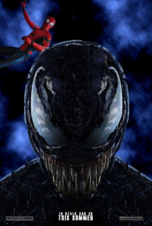 Spider-Man and Venom teaser poster by EJTangonan