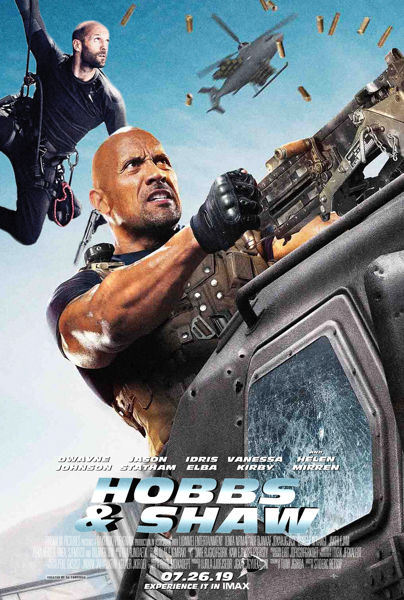 Hobbs And Shaw Poster 2 By Ejtangonan On Deviantart