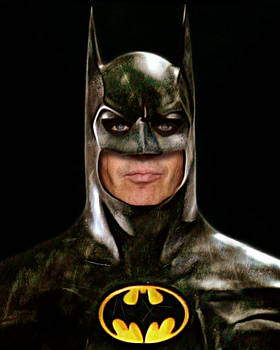 Michael Keaton as Batman in Flashpoint