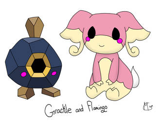 Marriland's Black Wedlocke: Grackle and Flamingo by Domenica-chan999