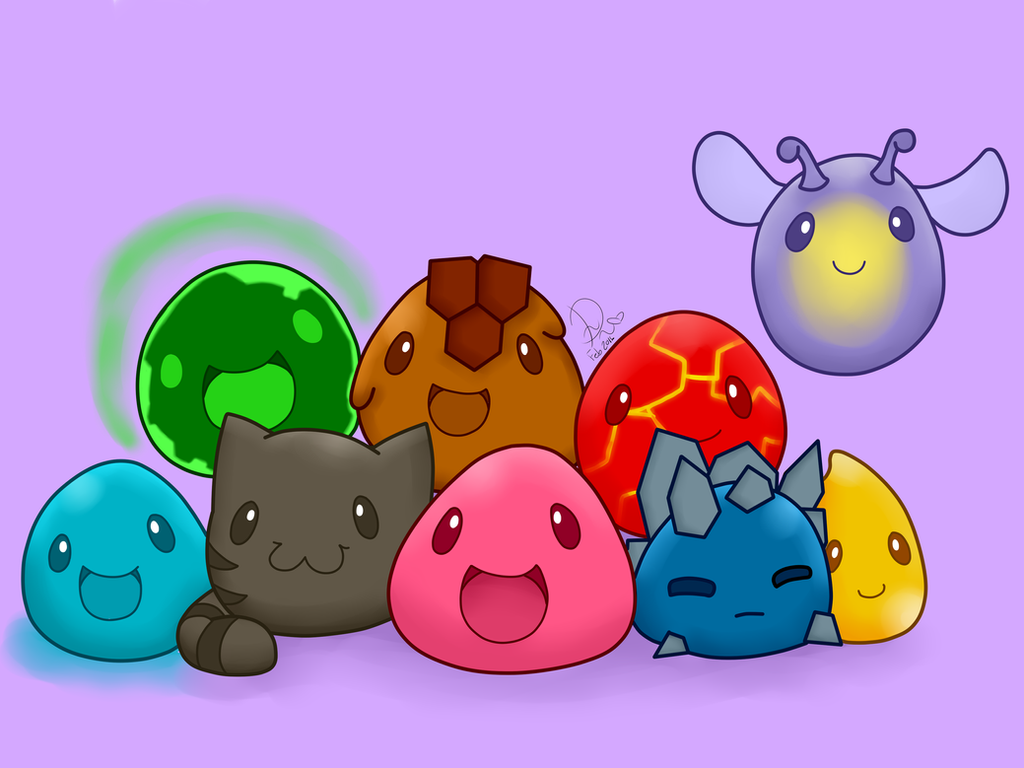 Slimes Slime Rancher Speedpaint By Domenica Chan999 On