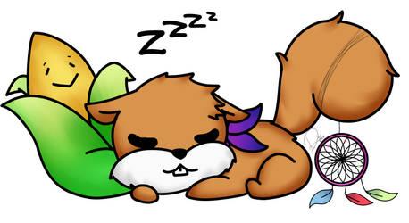 [CM] sleepy Zekeal by Domenica-chan999