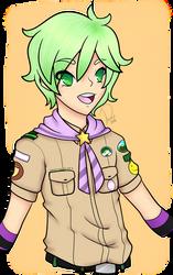 [OC] Junta Mizumi [Camp Buddy] by Domenica-chan999