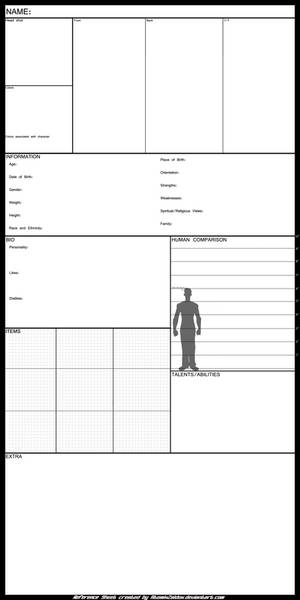 OC Reference Sheet TEMPLATE