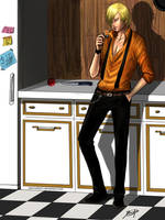 Sanji's kitchen by Jeannette11