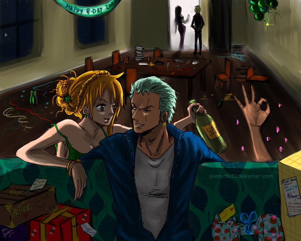 Zoro's Birthday 11/11 by Jeannette11