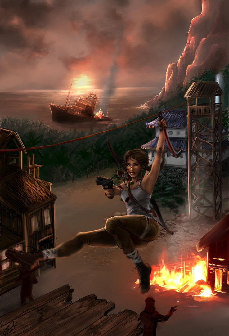 Tomb Raider Reborn - The Canopy by Jeannette11