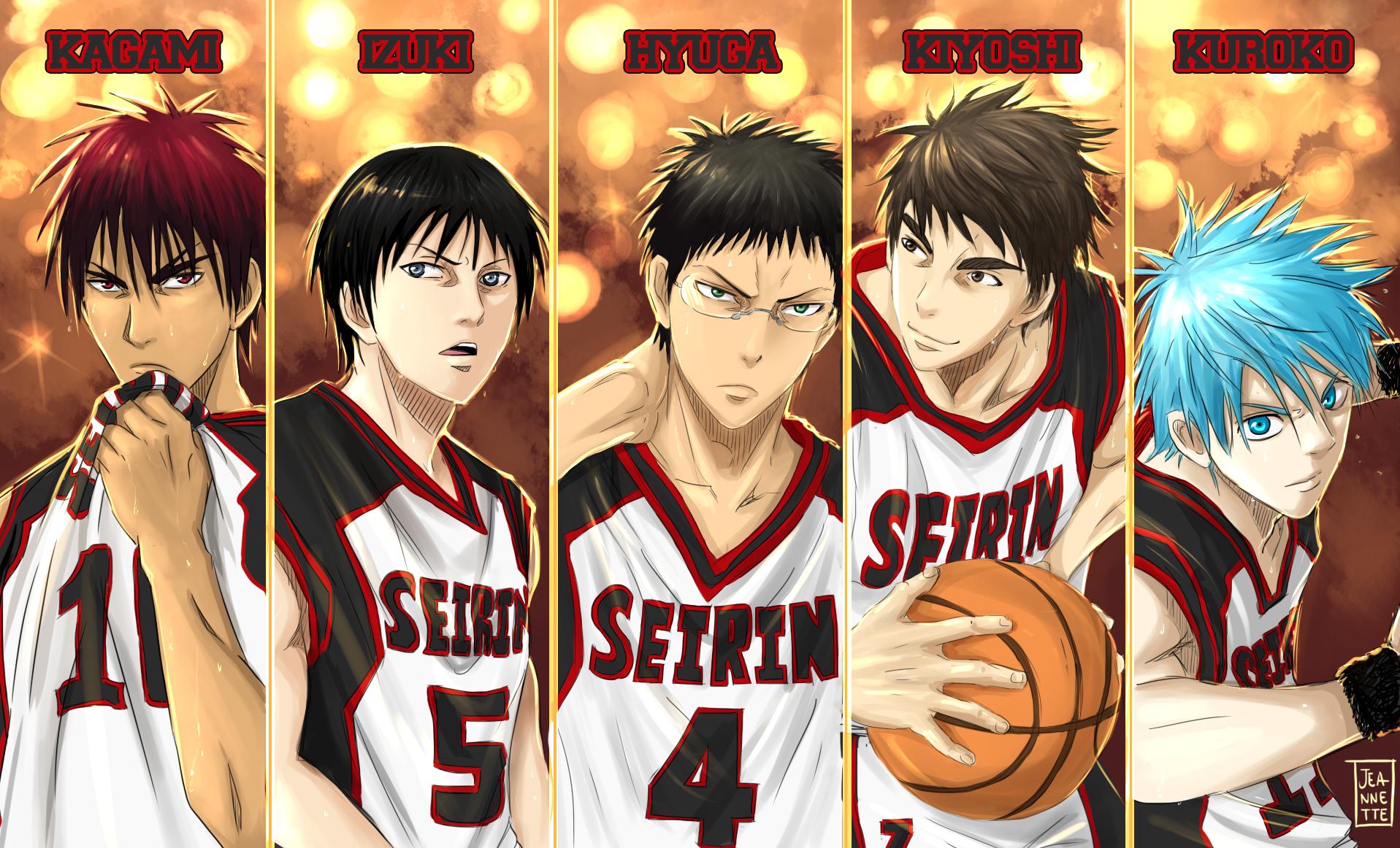 Seirin High by Jeannette11 on DeviantArt Kuroko No Basket Wallpaper Seirin