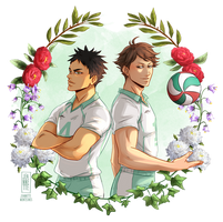 IwaOi flower crown by Jeannette11