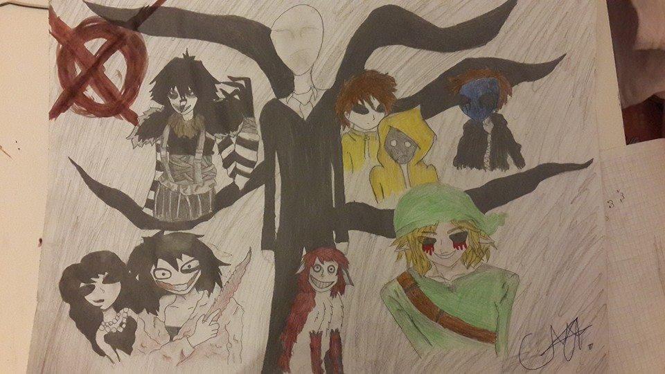 Creepypasta Family by YOLO6582 on DeviantArt
