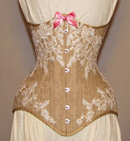 Venice Lace Bridal Corset by ElectraDesigns