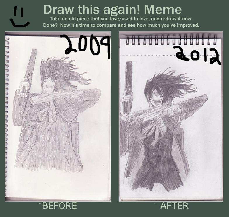 Draw This Again Meme! ~Alucard by hellsingfan101