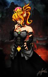 Bowser Peach by Li-Siegfried