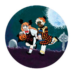 TWC Vote Incentive: Old Timey Trick-or-Treaters