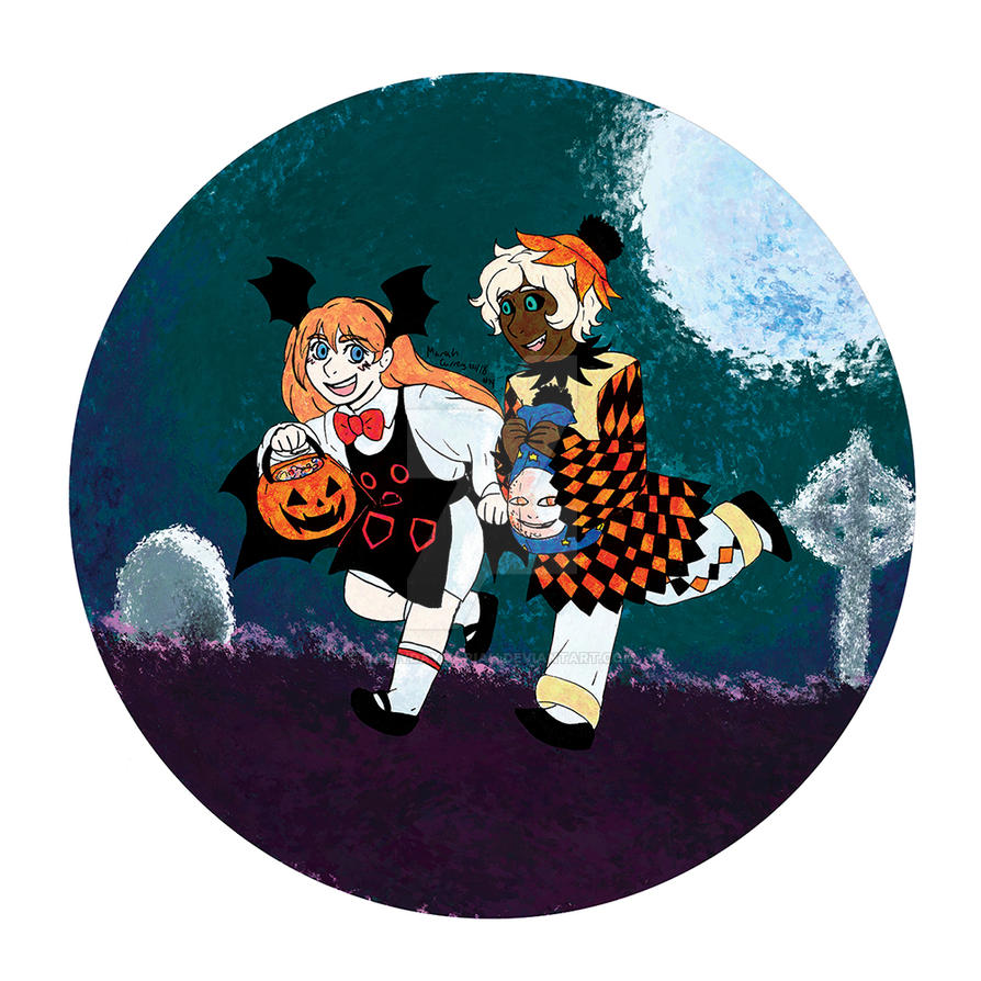 TWC Vote Incentive: Old Timey Trick-or-Treaters by RainyDayMariah