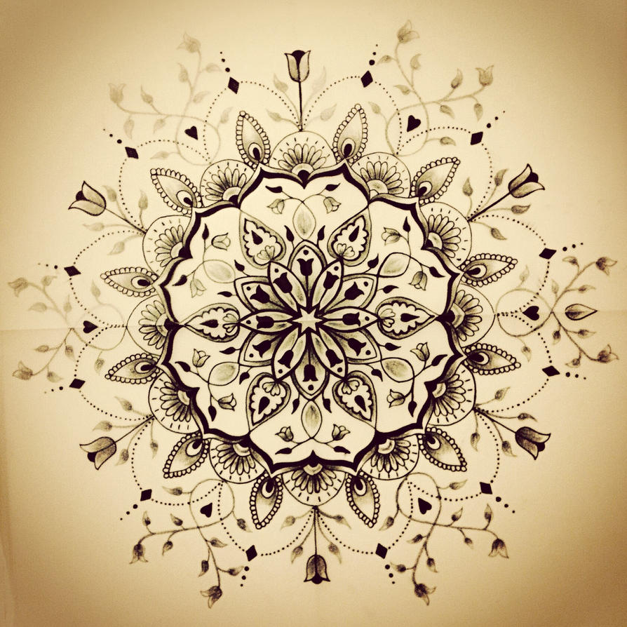 mandala tattoo by jaigilchrist on deviantart. Black Bedroom Furniture Sets. Home Design Ideas