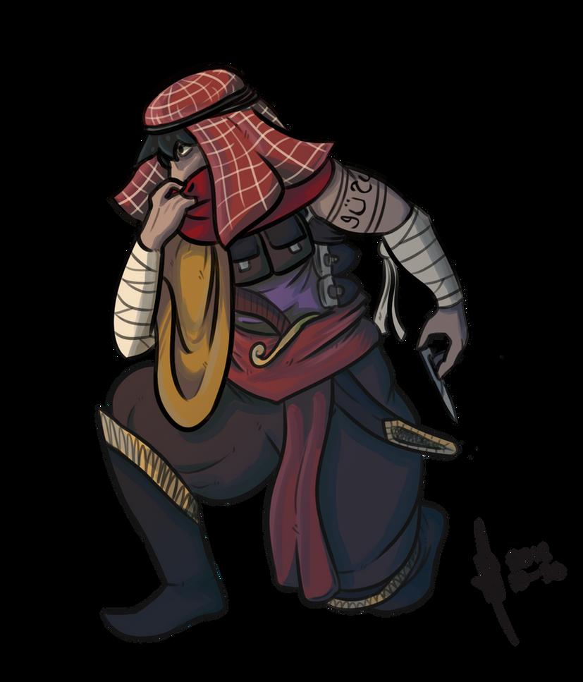 Arab-style Assassin by SesameSeeder