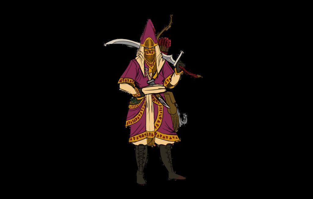 Small village warrior by SesameSeeder