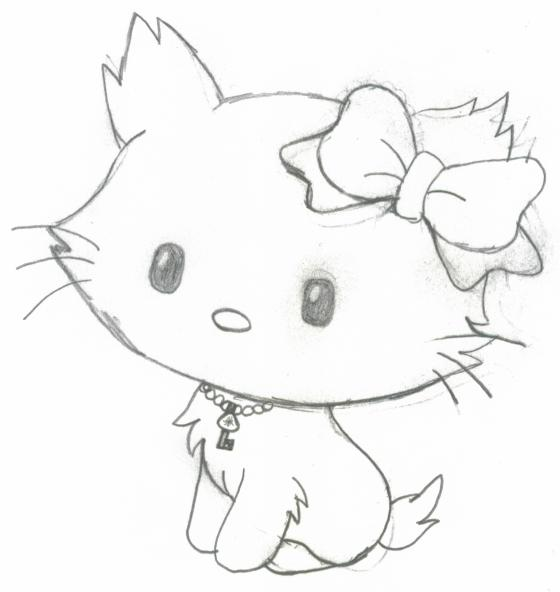 kitty images for drawing adsleaf com
