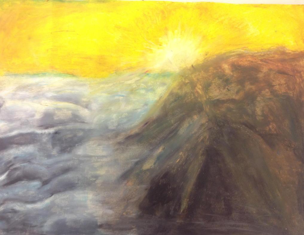 Oil pastel practice by Yoshi123pegasister