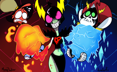 Wander Over Yonder Dominator Fire and Ice by Megiez