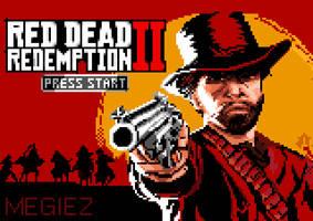 RED DEAD REDEMPTION 2 PIXEL ART