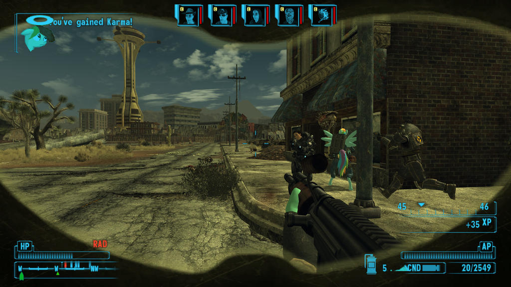 Ingame Fallout New Vegas mlp mod expression by avatdrag on ...